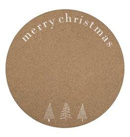 Bloomingville Placemat Cork Weihnachten