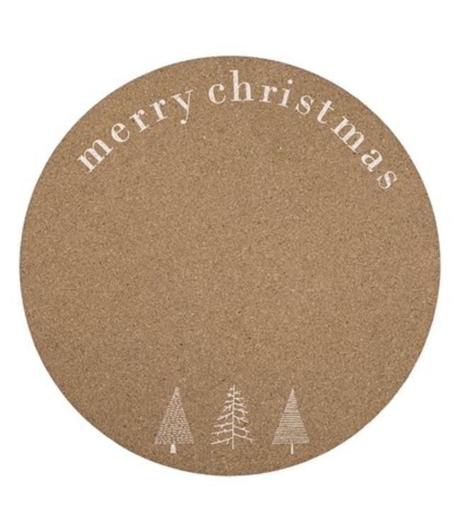 Bloomingville Bloomingville  Placemat Cork Weihnachten