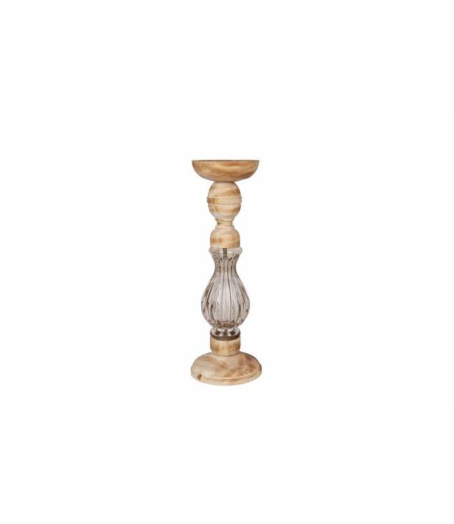 Be Pure Home Kerzenständer Holz