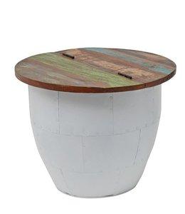 By-Boo Storage Tisch 50cm - Weiß