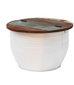 By-Boo Storage Tisch Lizzy 60 - Weiß