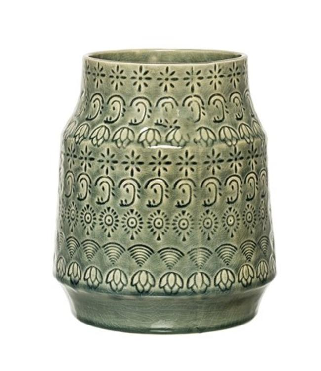 Bloomingville Vase Grün Bloomingville