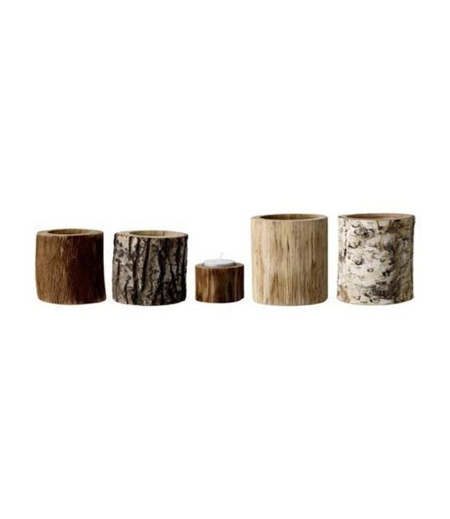 Bloomingville Kerzenständer Set  Holz
