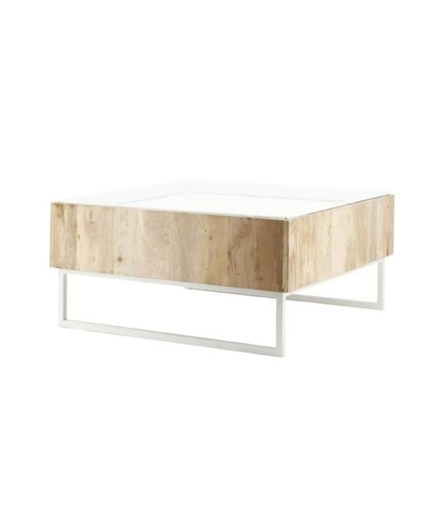 By-Boo Couchtisch Hopper - 82 cm - Weiß