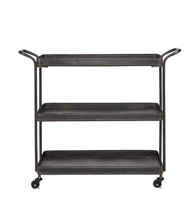 Be Pure Home Tea Trolley Metall Schwarz