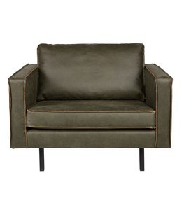 Be Pure Home Rodeo Sessel 1,5-Sitzer Army Green