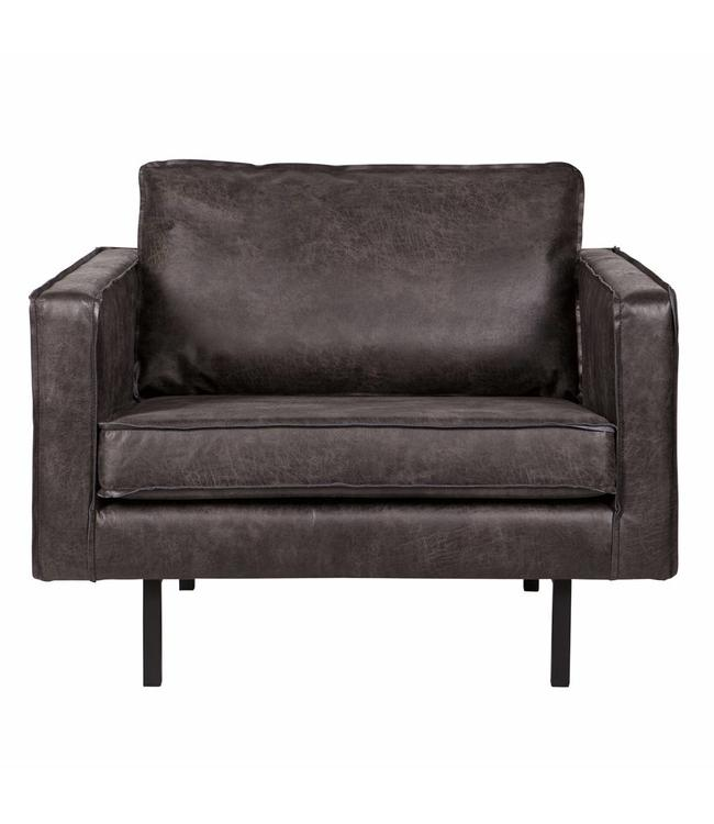 Be Pure Home BePureHome Rodeo Sessel 1,5-Sitzer Schwarz