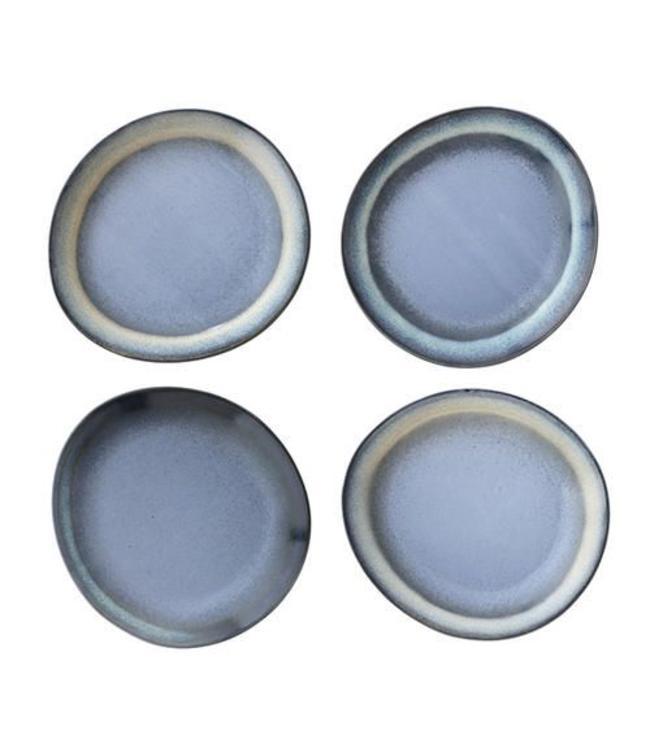 HK Living Frühstückteller Blau HK Living - 6 Stück
