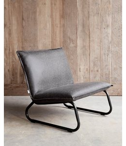Lounge chair Yara - Black