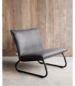 Lounge chair Yara - Black