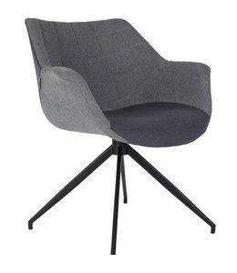 Zuiver Stuhl Doulton - Grey