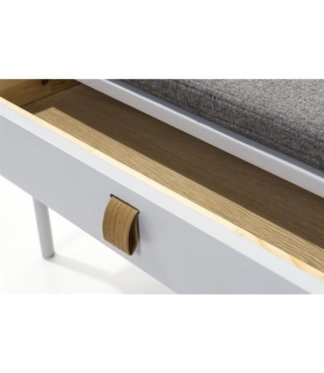 telefonbank grau my dutch living room. Black Bedroom Furniture Sets. Home Design Ideas
