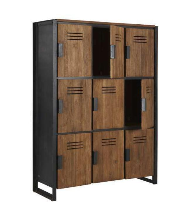 Fendy Collection Locker - 9 Türe