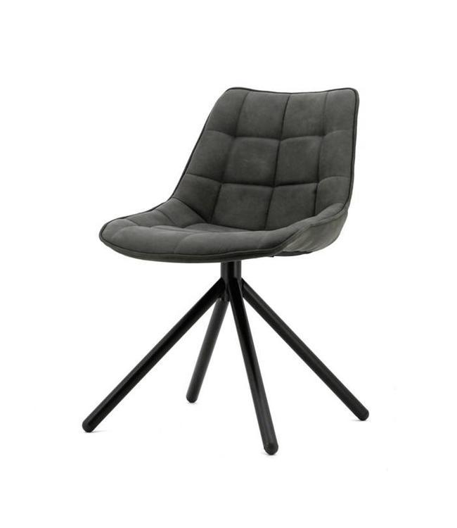 stuhl bella anthrazit my dutch living room. Black Bedroom Furniture Sets. Home Design Ideas