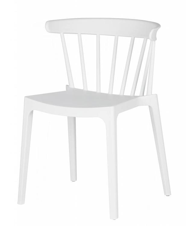 Gartenstuhl Bliss  - Weiß