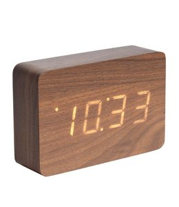 Karlsson Wecker/Uhr Wood Square