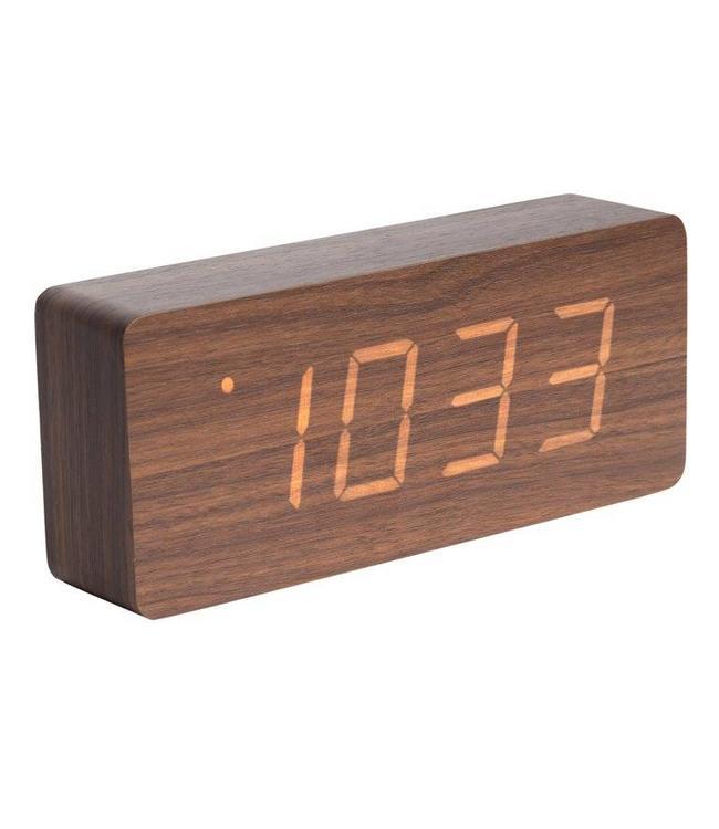 Karlsson Wecker/Uhr Wood Tube