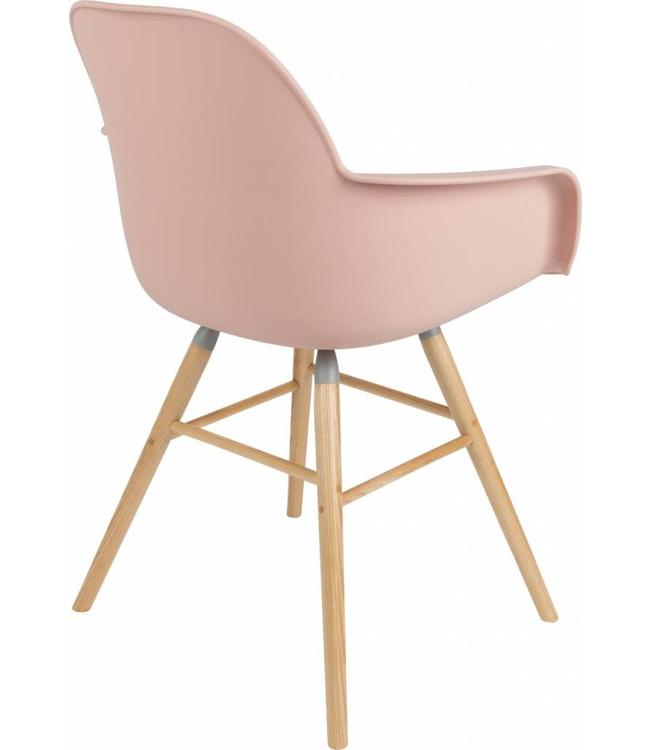 albert stuhl mit armlehne rosa my dutch living room. Black Bedroom Furniture Sets. Home Design Ideas