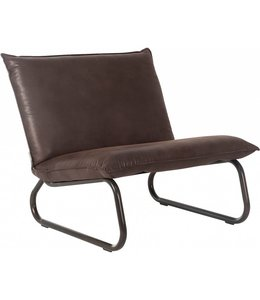 Lounge chair Yara - Braun
