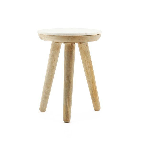 tisch marmor wei klein my dutch living room. Black Bedroom Furniture Sets. Home Design Ideas
