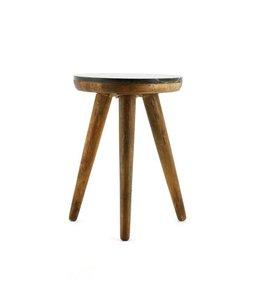 By-Boo Tisch Marmor schwarz - klein