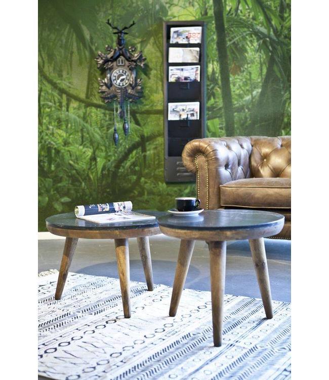 tisch marmor schwarz klein my dutch living room. Black Bedroom Furniture Sets. Home Design Ideas