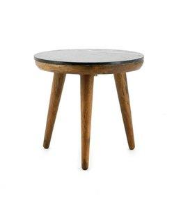 By-Boo Tisch Marmor Schwarz - Medium