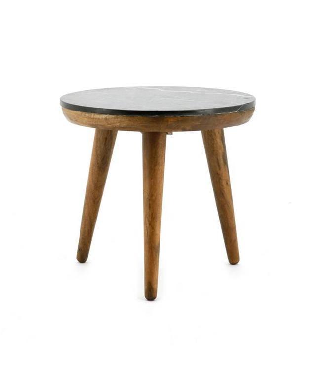 Tisch marmor schwarz medium my dutch living room for Tisch aus marmor