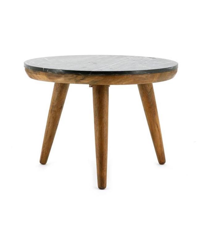 By-Boo Tisch Marmor Schwarz - Groß