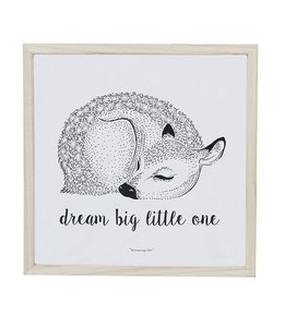 Bloomingville Poster Dream Big Little One