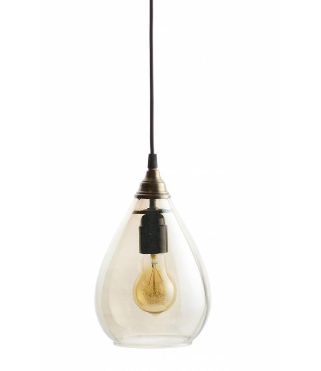 Be Pure Home Pendelleuchte Simple  Brass Taupe Large