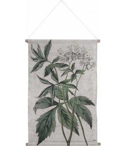 HK Living Wandkarte Botanisch - L
