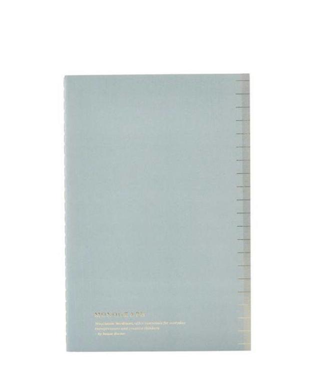 Monograph Notizbuch Soft blau - 5er Set