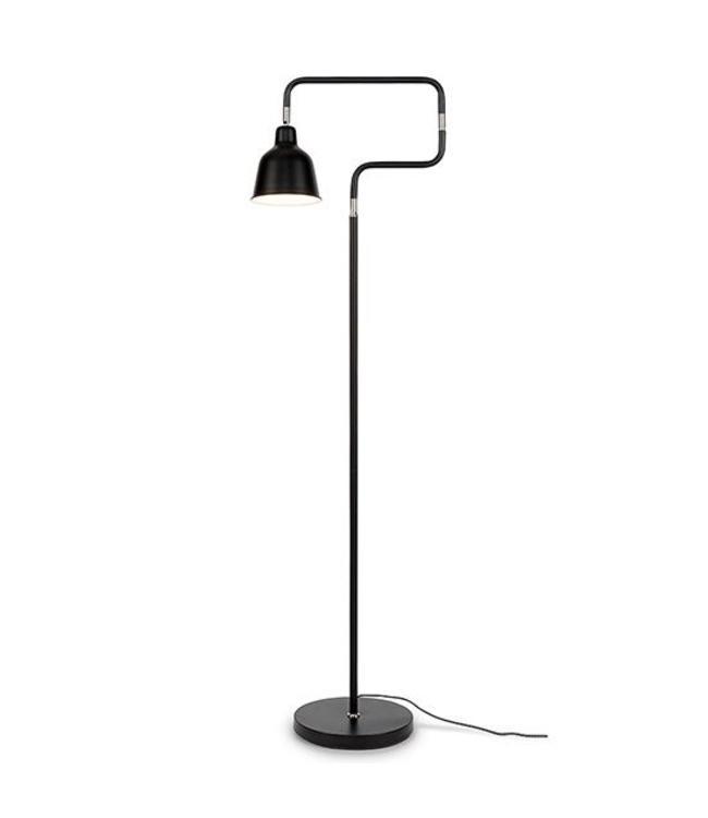 Citylights Stehlampe London - Schwarz