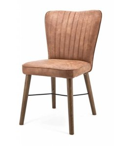 Stuhl Chiba ohne Armlehne - cognac