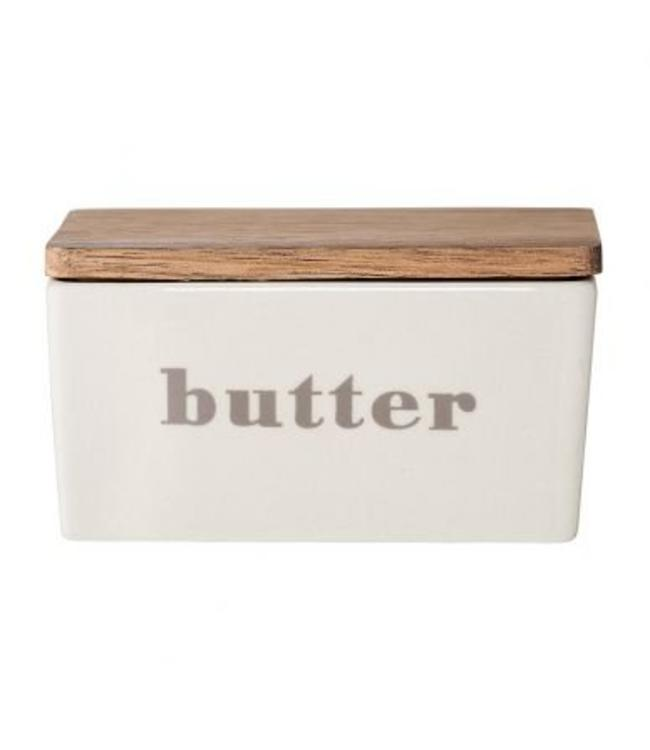 Bloomingville Butter Box Grey/Wood