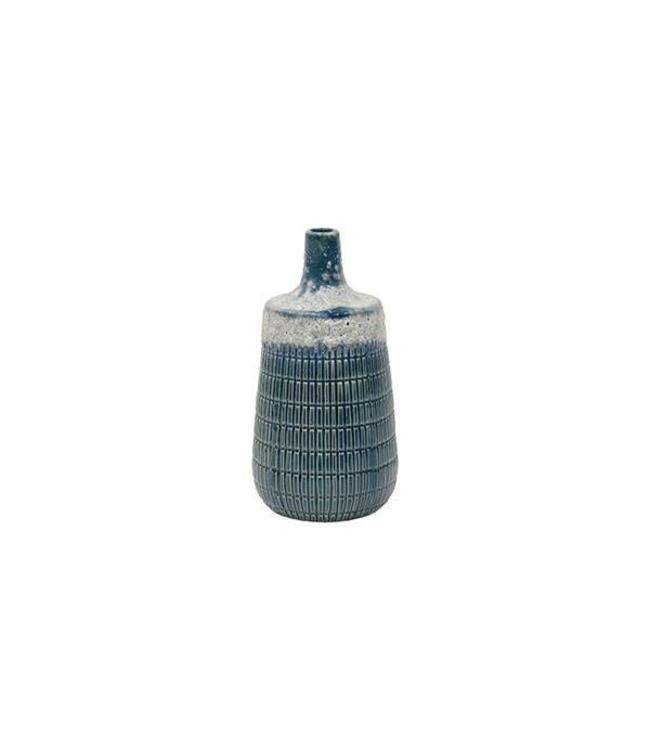 HK Living Deco Vase Blau