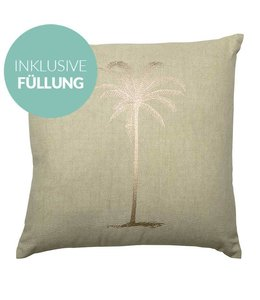 Bloomingville Kissen  Palm - inkl. Füllung
