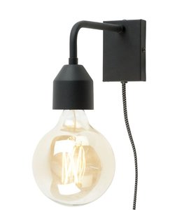 Wandlampe Madrid - Schwarz