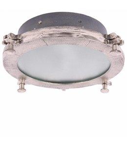 Deckenlampe Toscan Grau mit Silber - Large