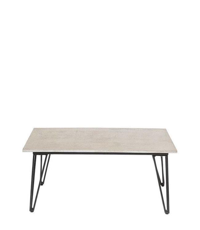 Bloomingville Beistelltisch Concrete Grau