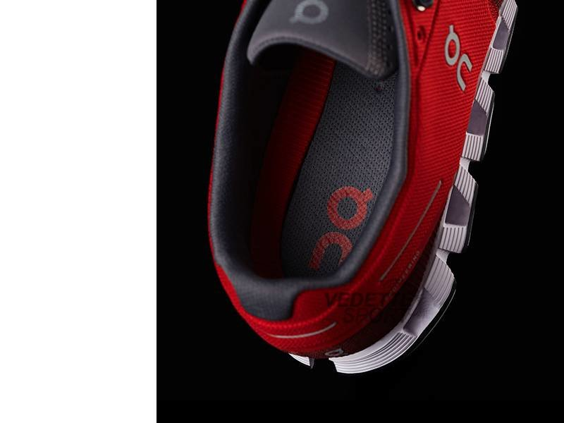 ON Running  On Cloud Loopschoenen Heren Red