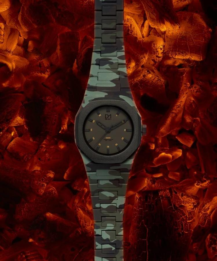 D1 MILANO D1 MILANO CAMOUFLAGE WATCH