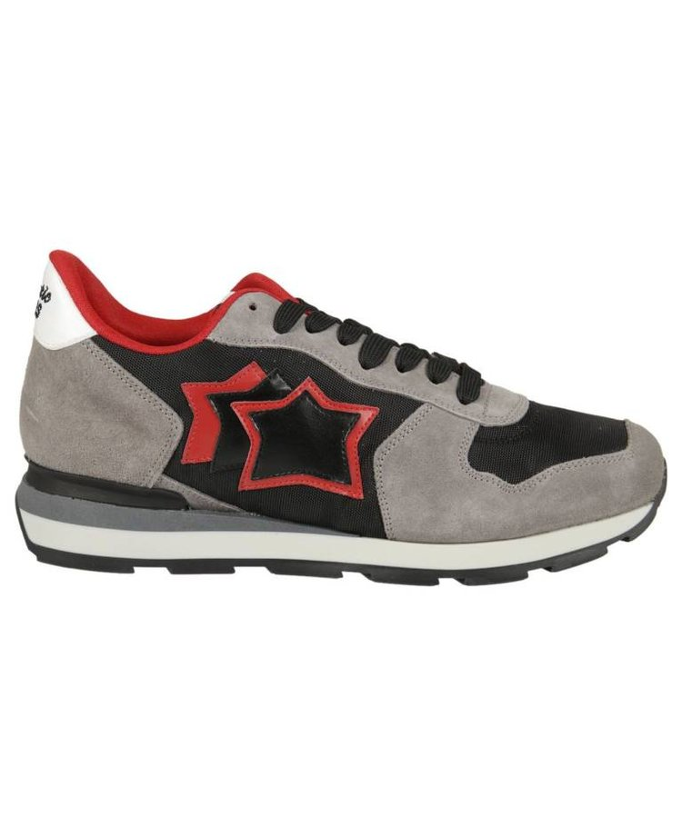 ATLANTIC STARS ATLANTIC STARS LACE-UP RUNNER GALAXY BLACK