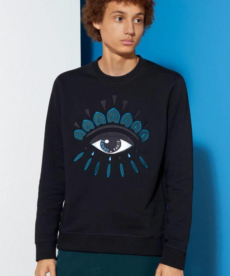 KENZO KENZO BLACK EYE SWEATER