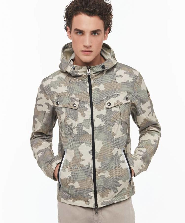 COLMAR COLMAR RESEARCH LINE MEN'S CAMOUFLAGE JACKET