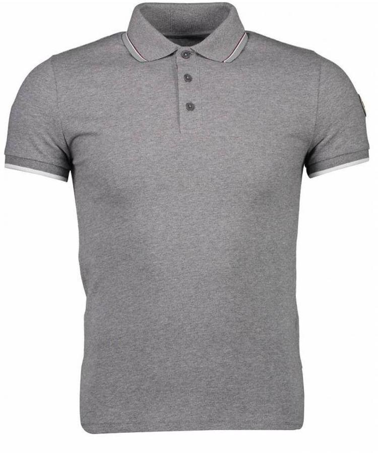COLMAR COLMAR MEN'S POLO SHIRT IN STRETCH COTTON GREY