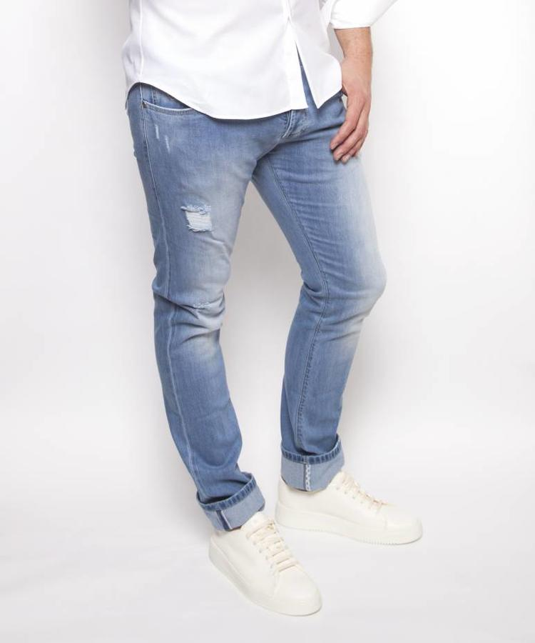 RICHARD J BROWN RICHARD J BROWN LIGHT BLUE SELFRIDGE DENIM