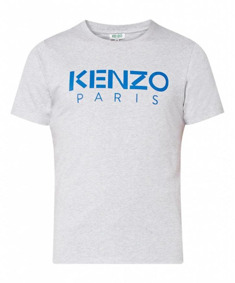 KENZO KENZO PARIS GREY T-SHIRT