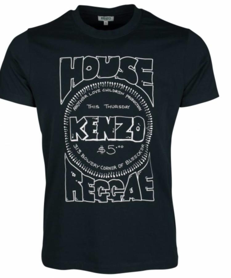 KENZO KENZO HOUSE REGGAE FORREST GREEN T-SHIRT